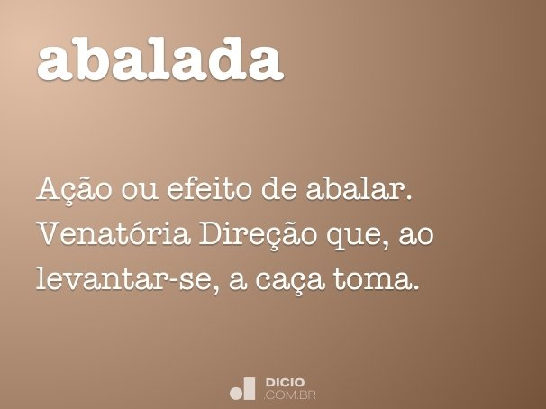 abalada