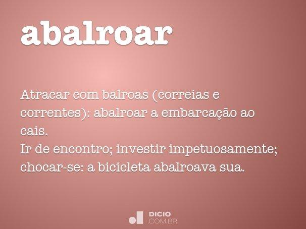 abalroar