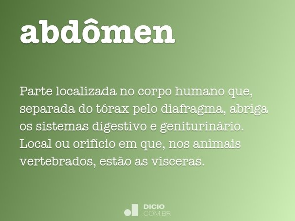 abd�men