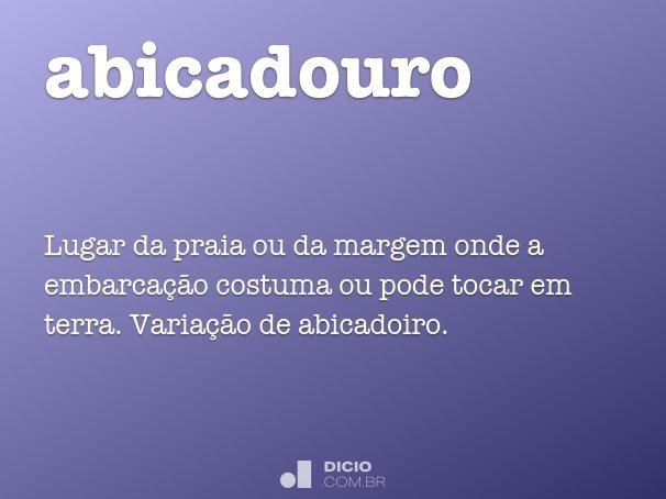 abicadouro