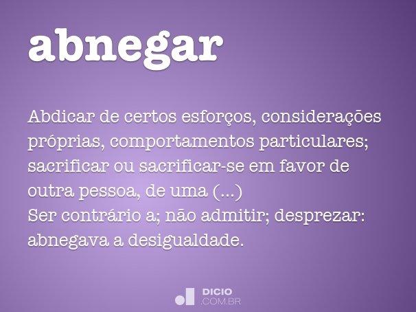 abnegar