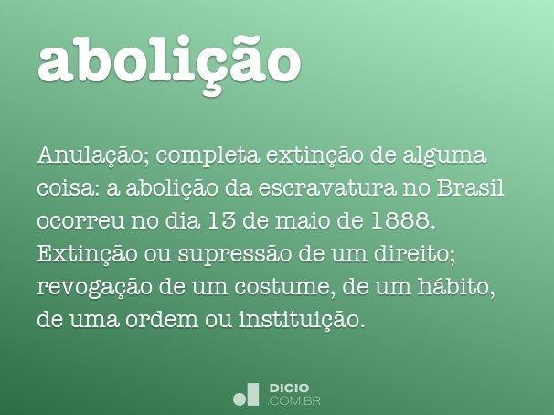 aboli��o