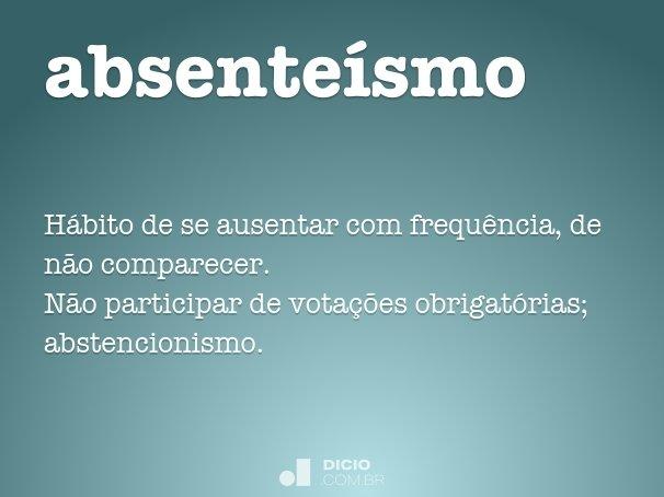 absente�smo