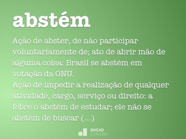 abst�m