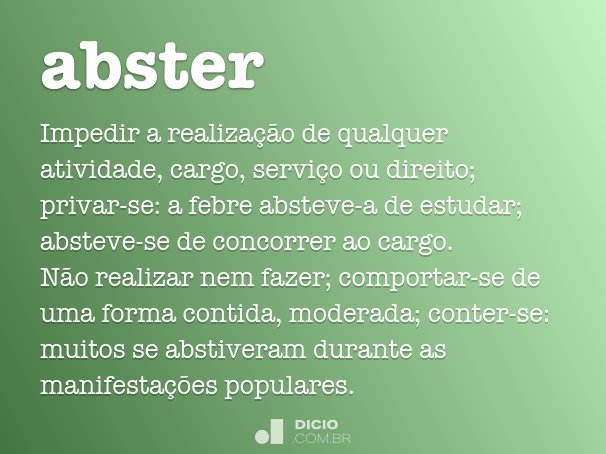 abster