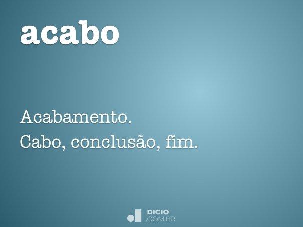 acabo