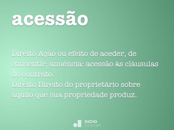 acess�o
