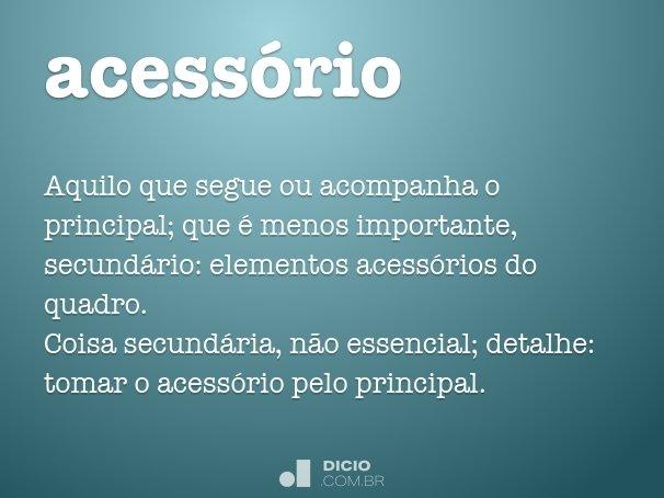 acess�rio