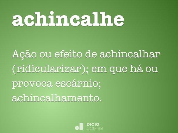 achincalhe