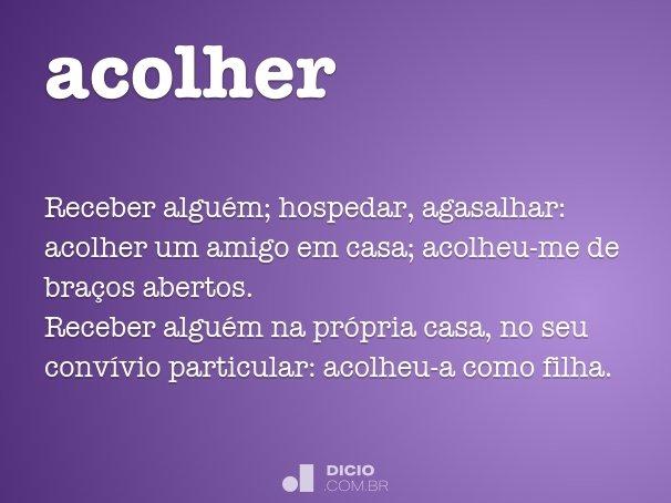 acolher
