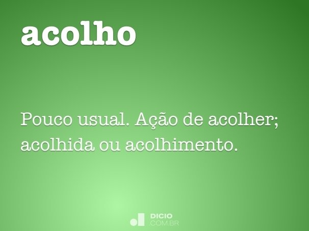 acolho