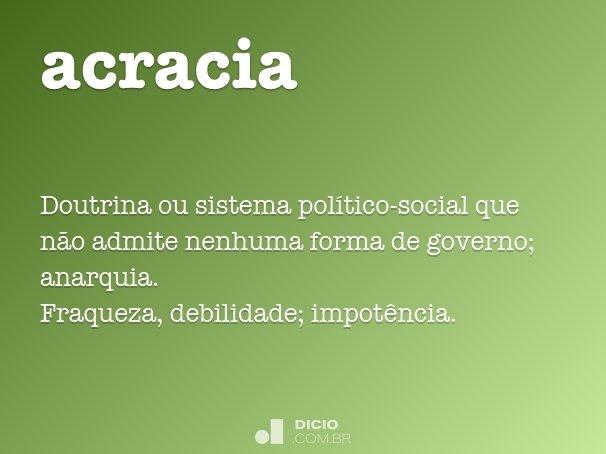 acracia