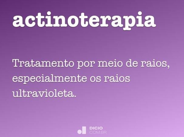actinoterapia