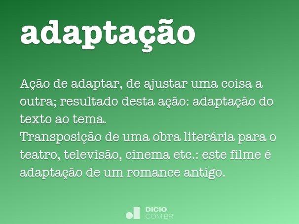adapta��o