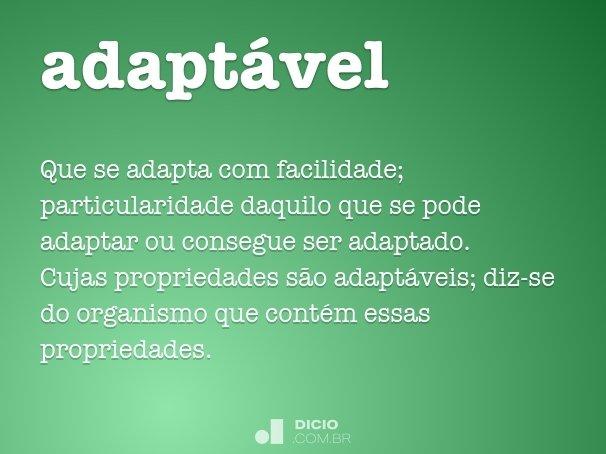adapt�vel