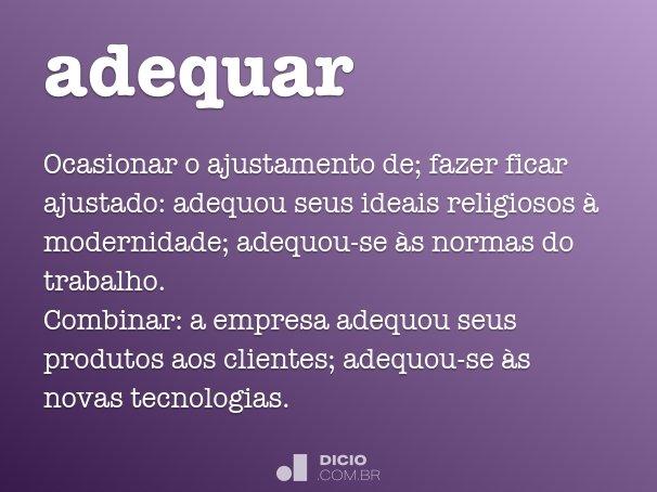 adequar