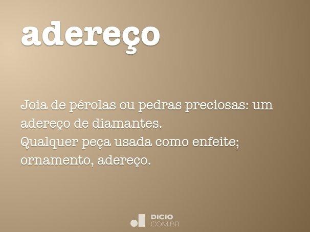 adere�o