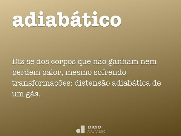 adiabático