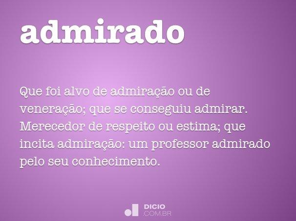 admirado