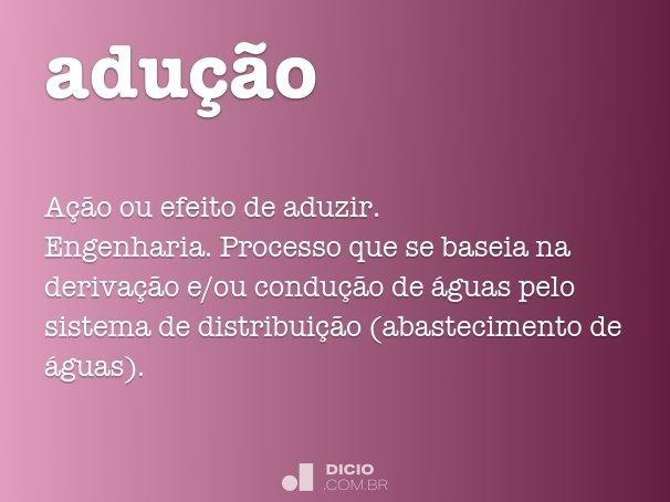adu��o