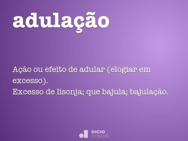 adula��o