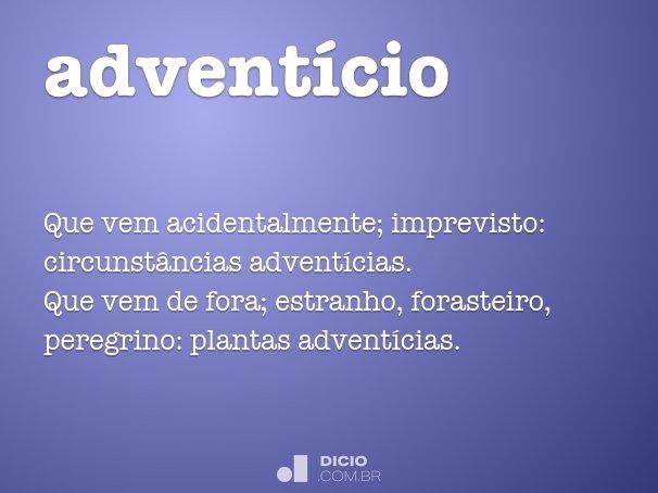 adventício