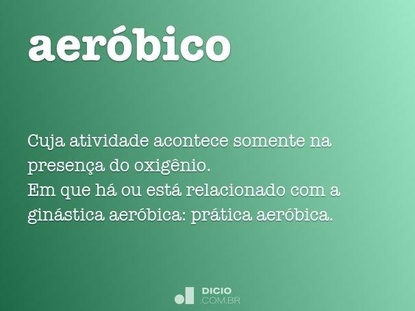 aeróbico