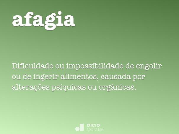 afagia