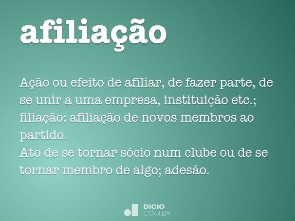 afilia��o