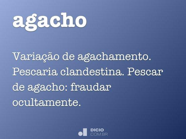 agacho