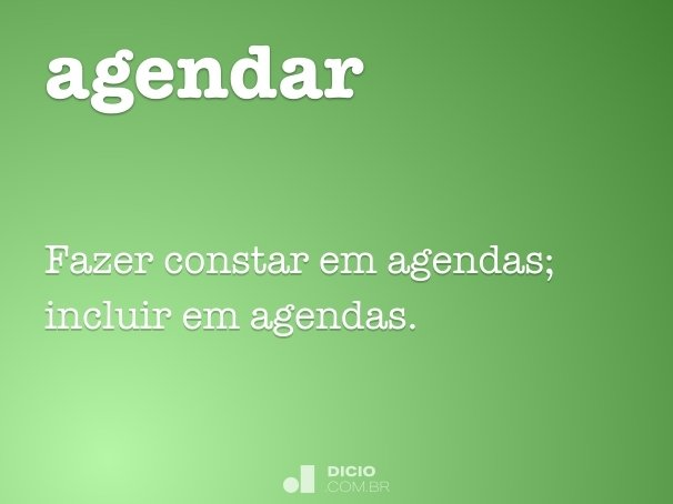 agendar