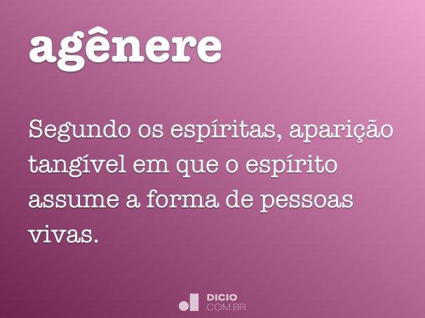 ag�nere
