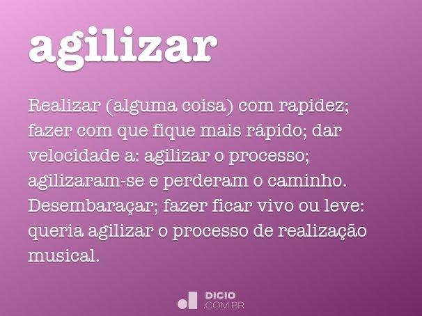 agilizar