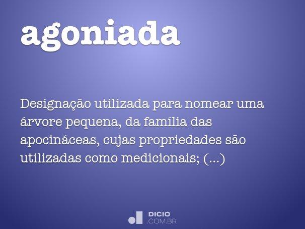 agoniada