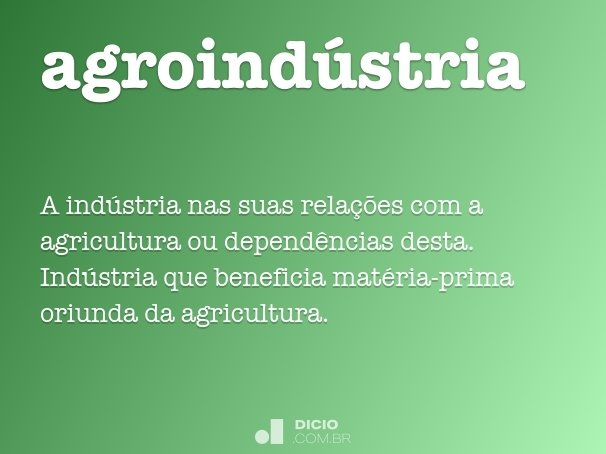 agroind�stria