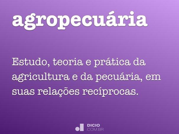 agropecu�ria
