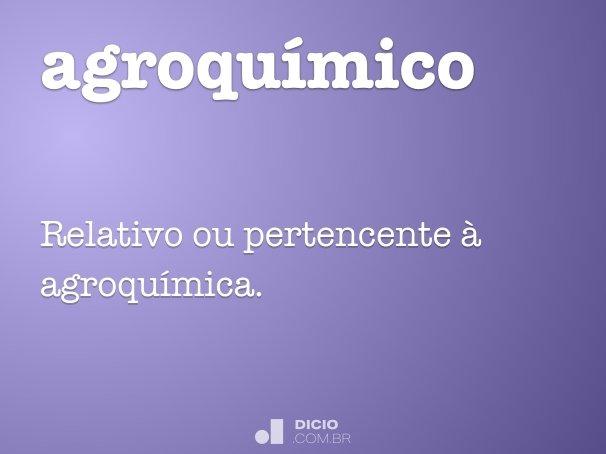 agroqu�mico