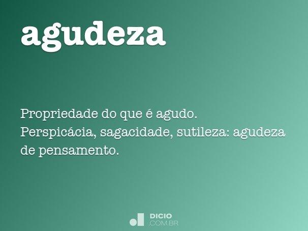 agudeza