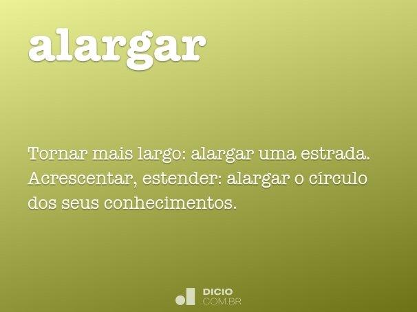 alargar