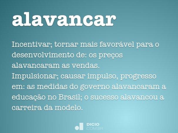 alavancar