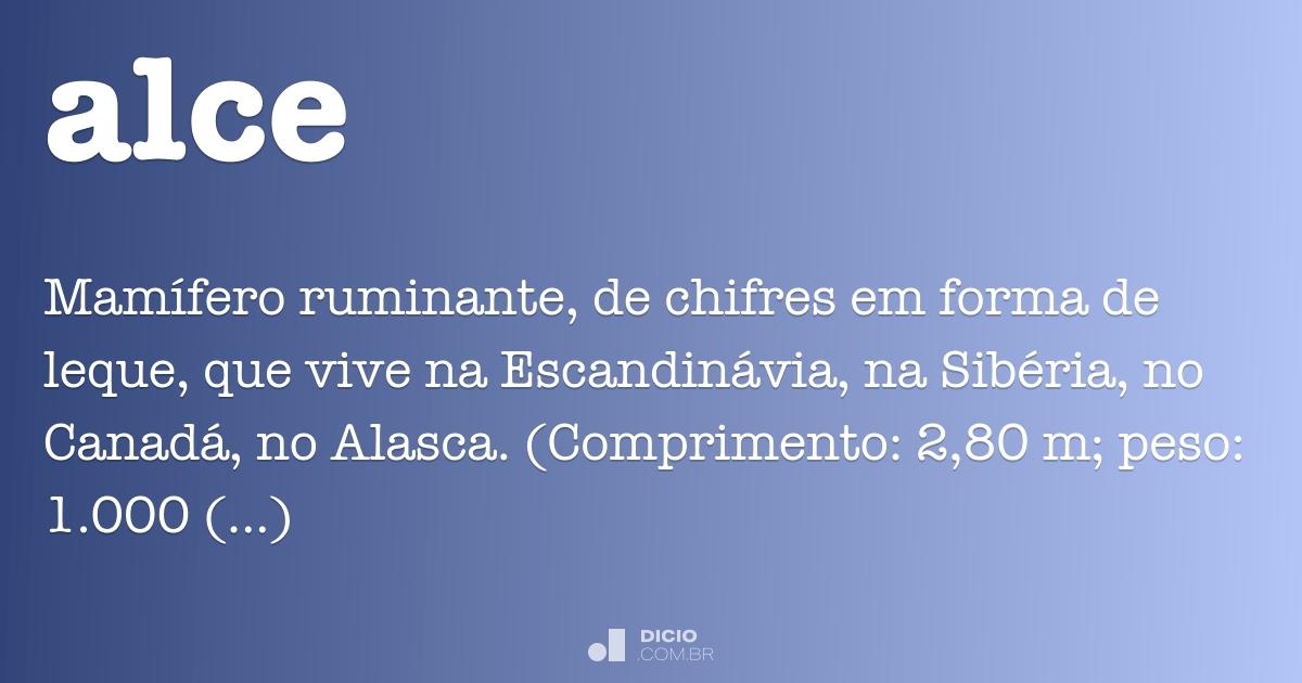 Alce - Dicio bb96506d29f