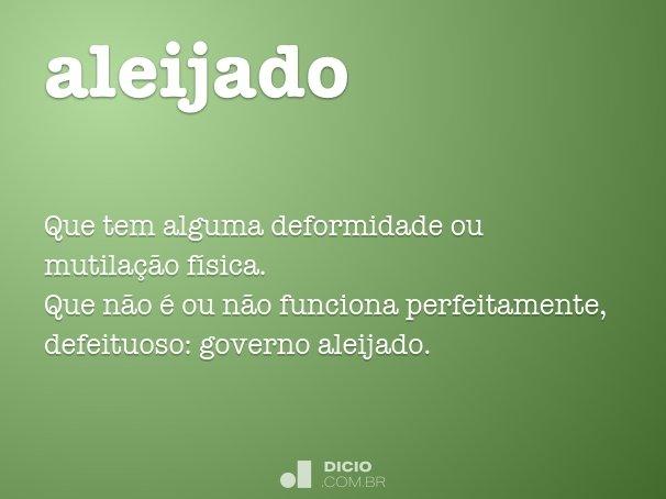 aleijado