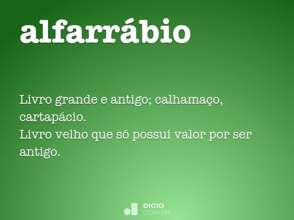 alfarr�bio