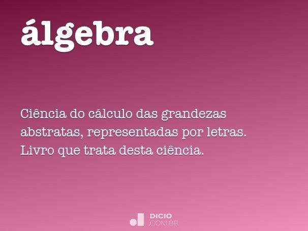 �lgebra