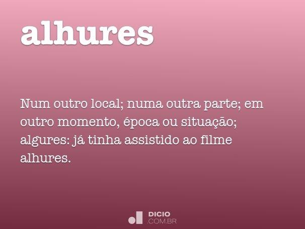 alhures