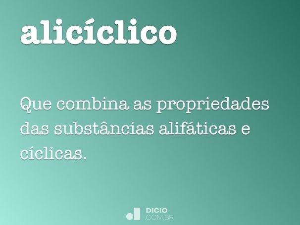 alicíclico