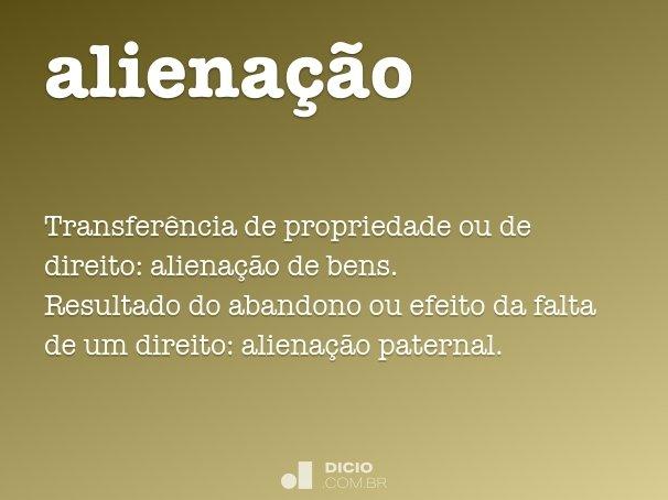 aliena��o