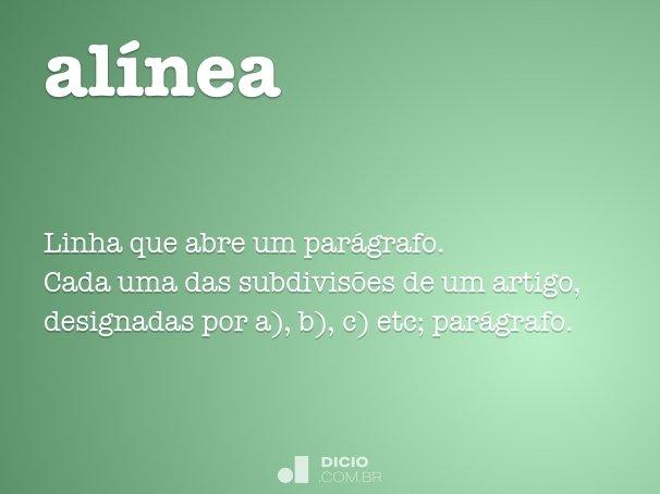 al�nea
