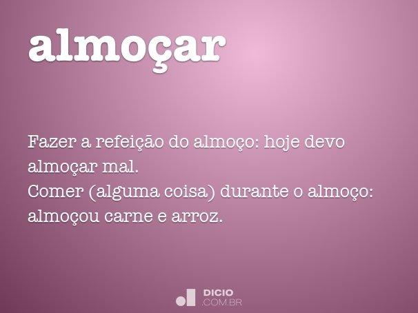 almo�ar