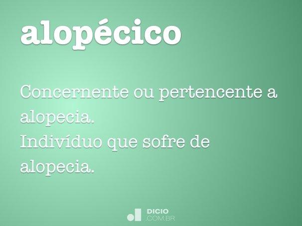 alopécico